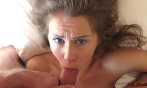 Sleeping beauty wakes up from the knob in her throat. mia bandini