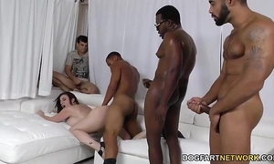 Slut sara jay group-fucked by dark schlongs