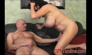 Angelica sin takes a ride on a large ramrod