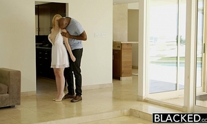 Blacked blond babysitter trillium copulates her dark boss