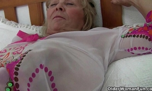 British granny isabel has large love muffins and a fuckable fanny
