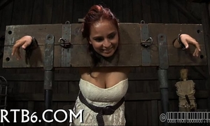 Titty punishment for nasty playgirl