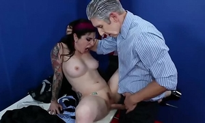 Angel joanna screwed by multiple males