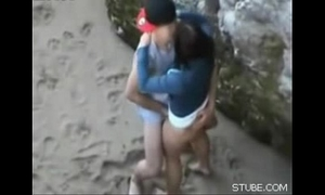 Amateur sex on the beach teenies youthful